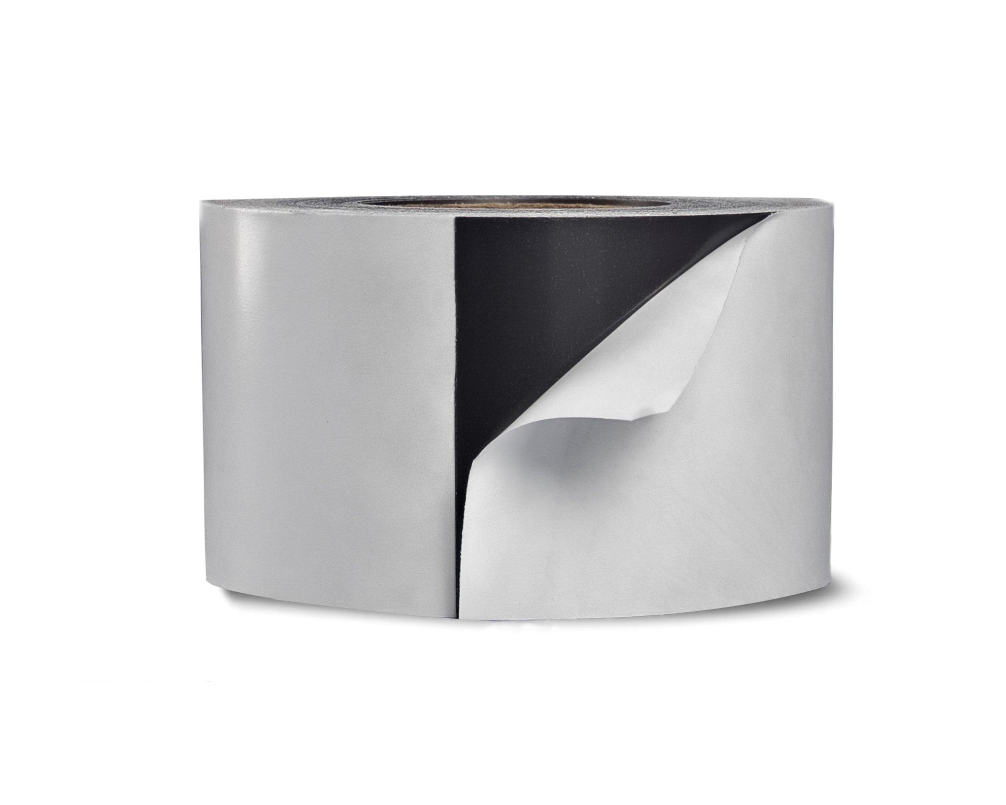 Waterproof Outdoor/Indoor Acrylic Adhesive Magnet Tape - 3'' X 25' 60 mil Strip Roll