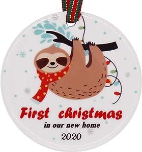 muminglong New Homeowners Housewarming Christmas Ornament, 2.75