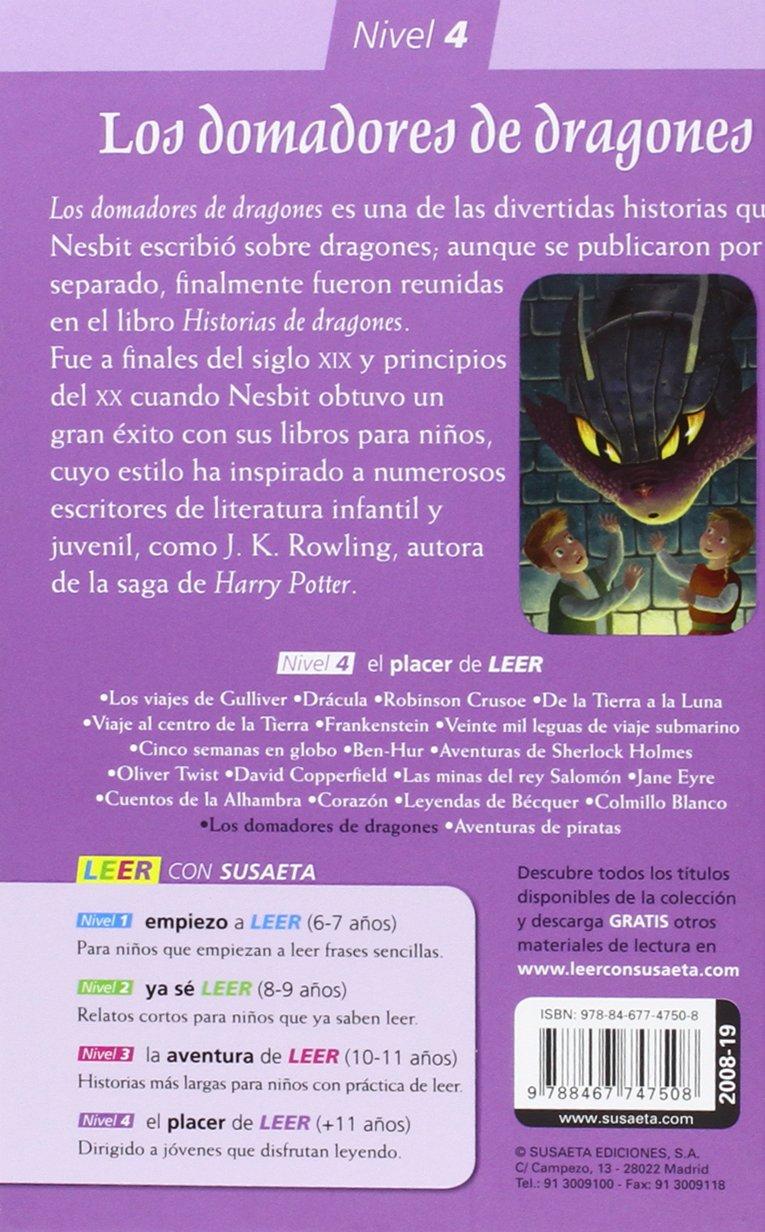 LOS DOMADORES DE DRAGONES (EL PLACER LEER CON SUSAETA, N.4): VARIOS: 9788467747508: Amazon.com: Books