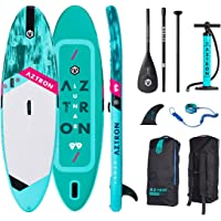 """Aztron Lunar 9'9"""" x 32"""" x 6"""" Allround Inflatable SUP Double Chamber SUP Stand Up Paddleboard"""