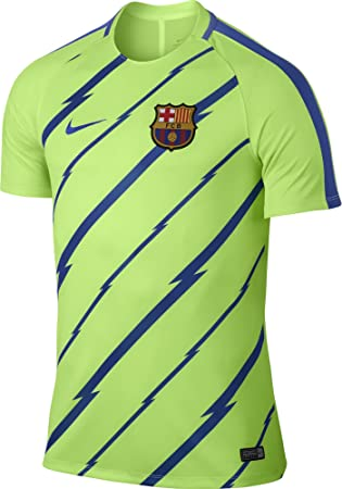 30ce58fbdc7 Nike 2016-2017 Barcelona Pre-Match Dry Training Football Soccer T ...