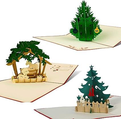 Petit-Fils /& Partner Carte de Noël de Noël scène graphique envelope qualité enveloppé