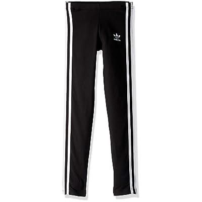adidas Originals Girls' 3-Stripes Leggings at Amazon Women's Clothing store