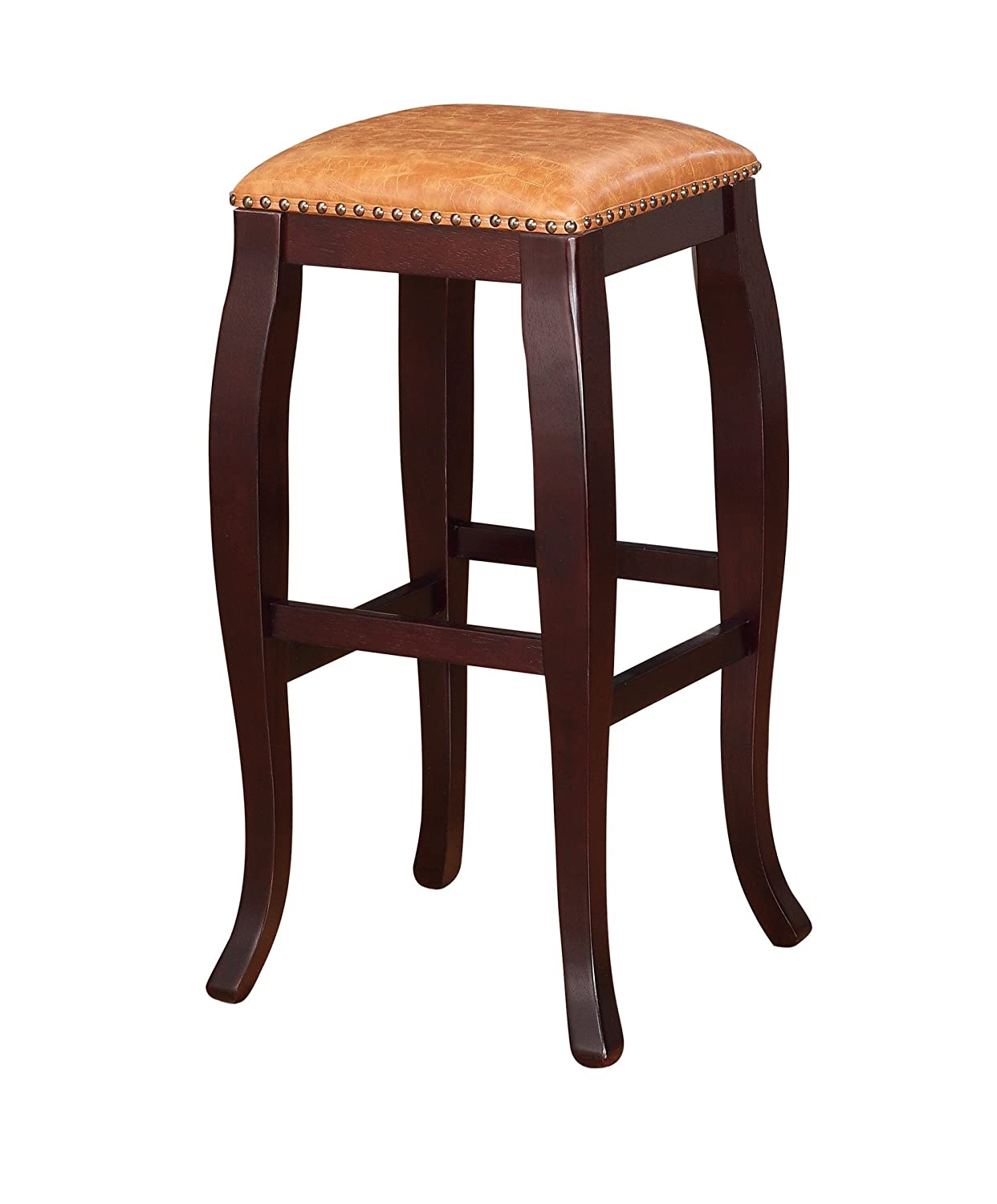furniture stool square rotsen wood natural products