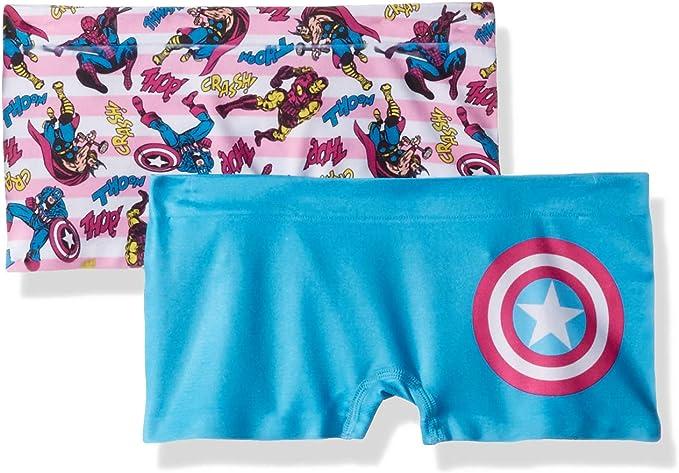 DC Comics Girls Big Licensed Seamless 2 Pack