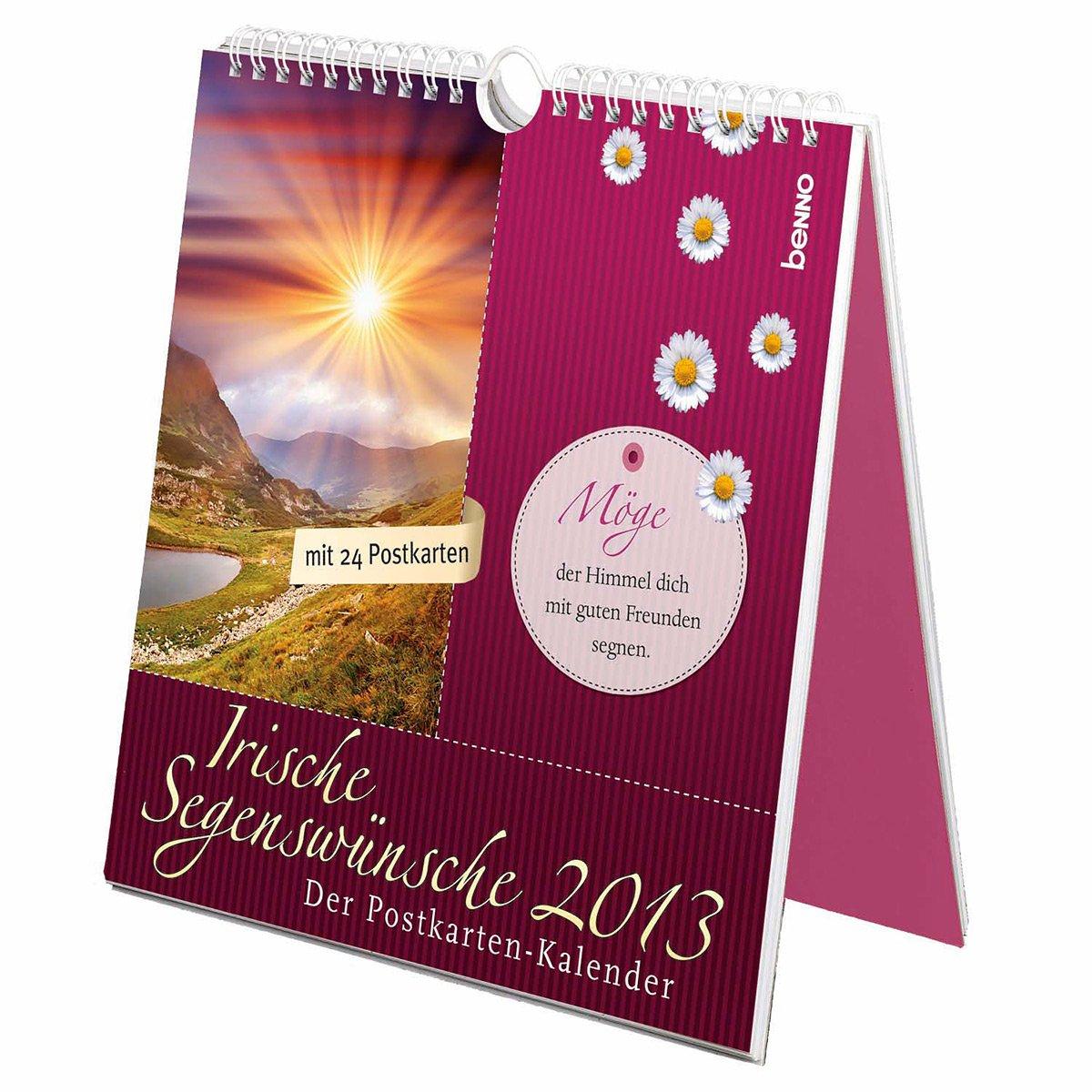 Irische Segenswünsche 2013: Der Postkarten-Kalender