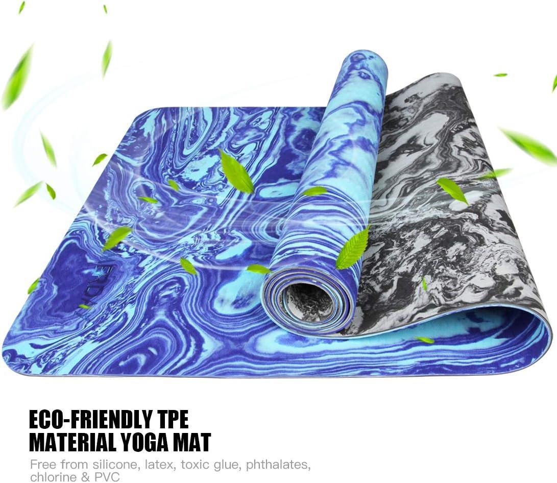 Amazon.com: AIMERDAY - Esterilla de yoga antideslizante ...