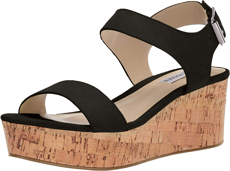 steve madden frame suede sandal