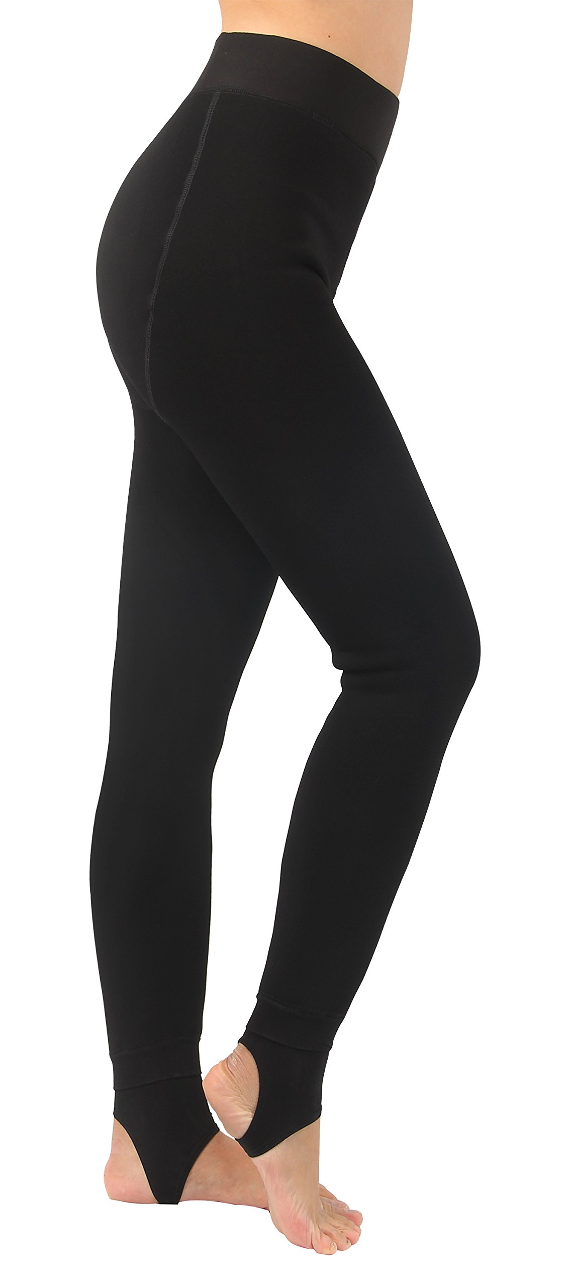 iLoveSIA Women's Thick Faux Fur Lined Thermal Legging One Size Fit XS to XL by iLoveSIA (Image #2)