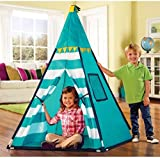 Discovery Kids Turquoise Adventure Teepee Tent  sc 1 st  Amazon.com & Amazon.com: Discovery Kids Indoor/Outdoor Play Tent.: Toys u0026 Games
