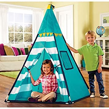 Discovery Kids Turquoise Adventure Teepee Tent by Discovery Kids  sc 1 st  Amazon.ca & Discovery Kids Turquoise Adventure Teepee Tent by Discovery Kids ...