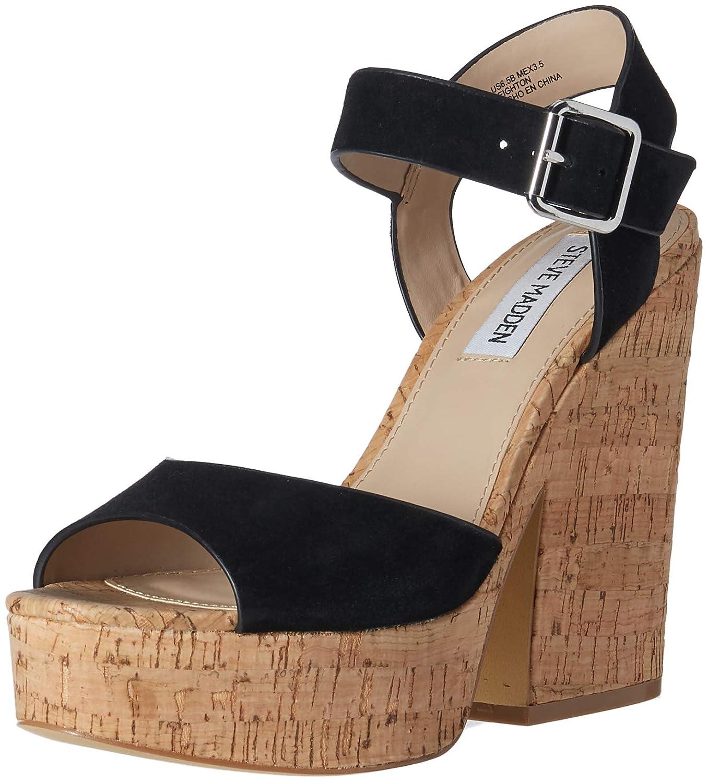 805a0836c48 Amazon.com | Steve Madden Womens Leighton Open Toe Slingback ...