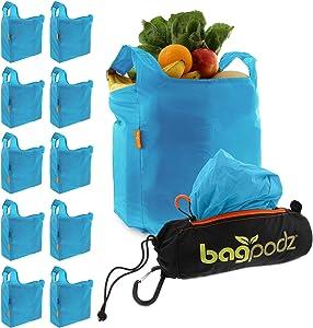 BagPodz Reusable Shopping Bags