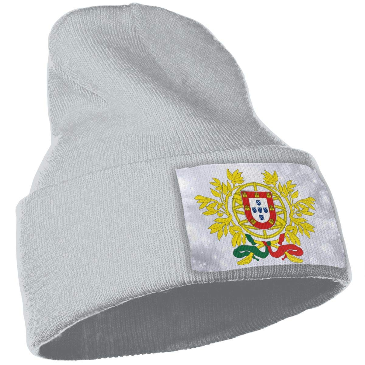 JimHappy Coat of Arms of Portugal Hat for Men and Women Winter Warm Hats Knit Slouchy Thick Skull Cap