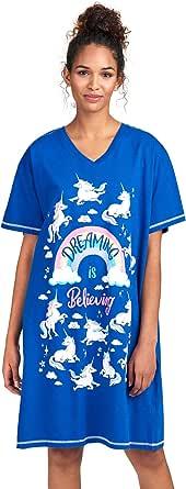 Hatley Little Blue House Women's Animal Sleepshirts