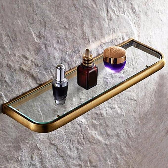 Sursy Baño de antigüedades, cosméticos, único estante, cuarto de ...