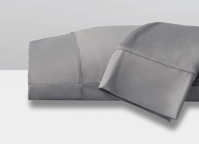 SHEEX Original Performance Pillowcases, Set of 2, Ultra-Soft Fabric, Graphite, King