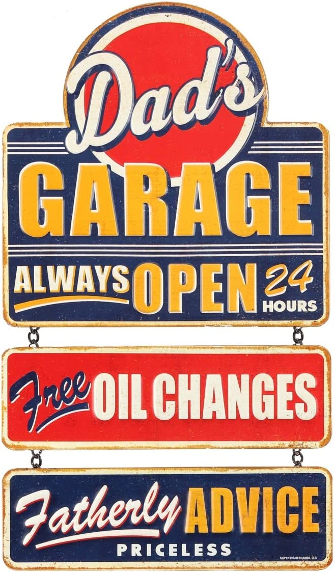 """Free advice always right~ 8/"""" x 12/"""" METAL SIGN Novelty ~Dad/'s Garage"""