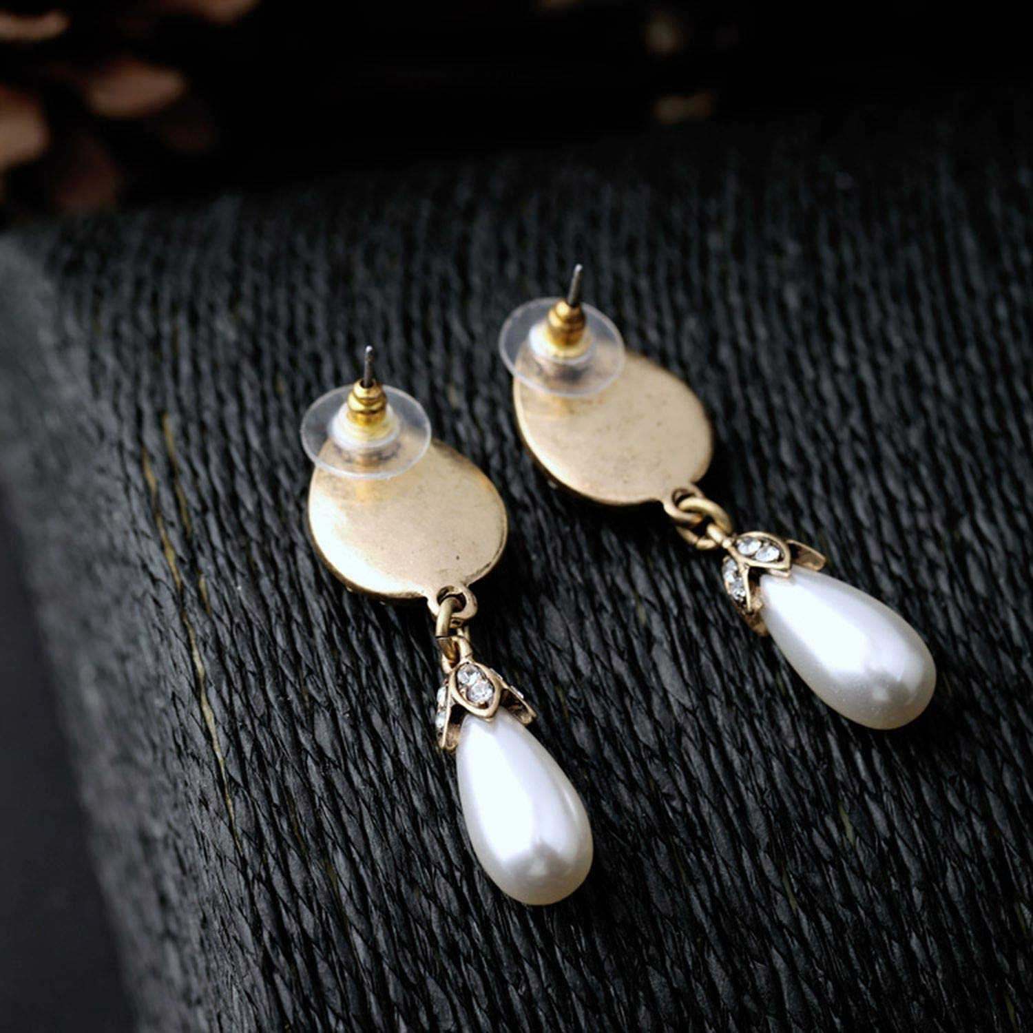Jewelry Simple Simulated Pearl Glass Mixed Earring Earring Summer Wedding Earring Fashion Jewelry