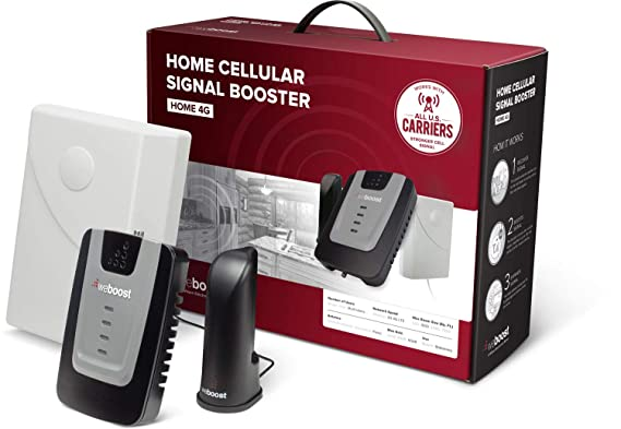 We Boost Home 4 G 470101 Cell Phone Signal Booster For Home And Office   Enhance Your Cell Phone Signal Up To 32x by We Boost