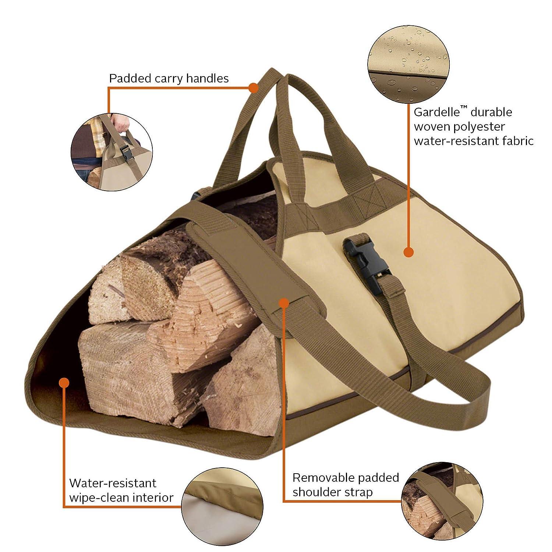 Amazon.com: Classic Accessories Veranda Log Carrier: Jardín ...