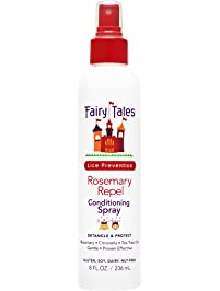 Fairy Tales Rosemary Repel Daily Kid Conditioning Spray for Lice Prevention - 8 oz