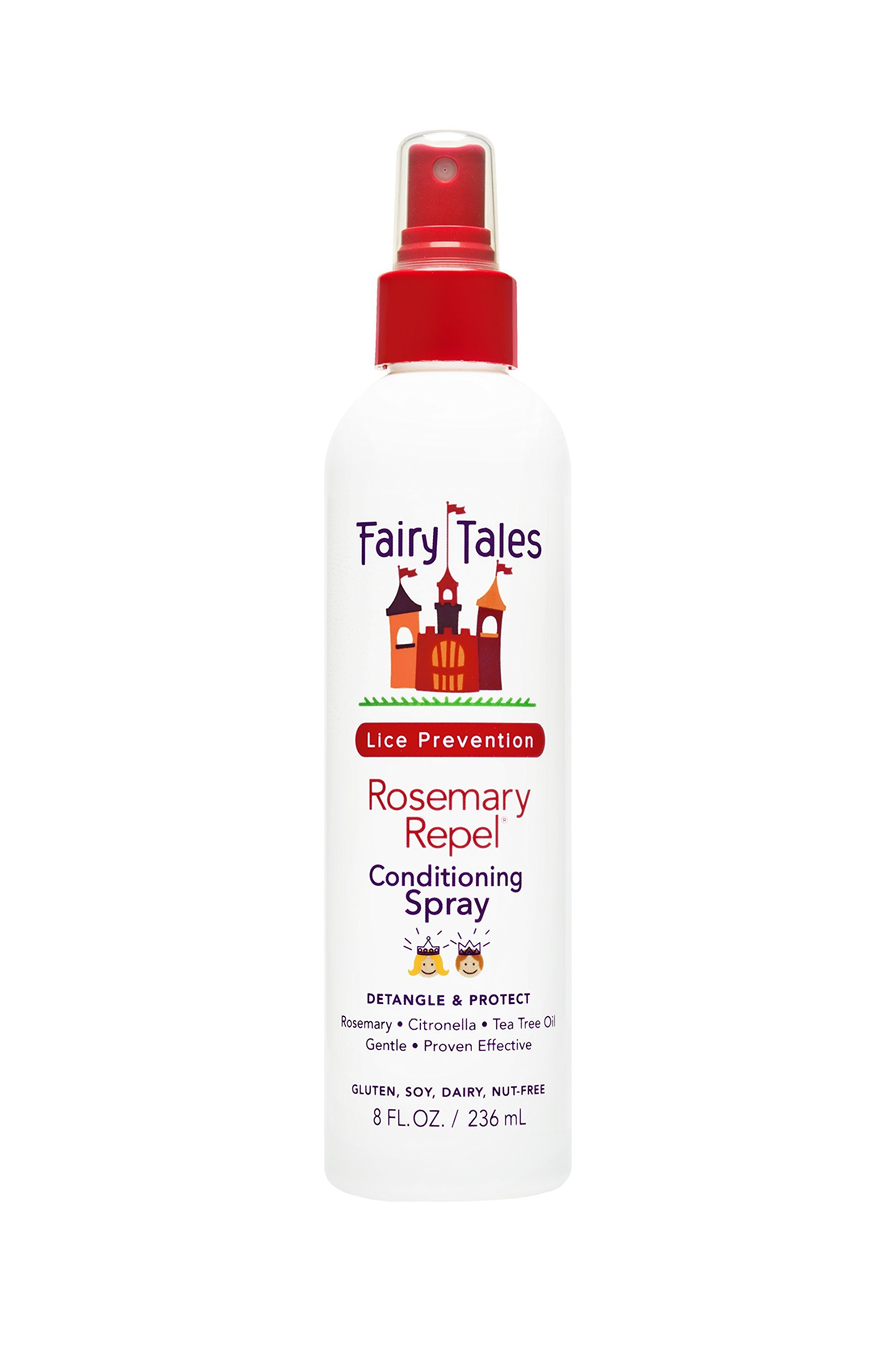 Fairy Tales Rosemary Repel Daily Kid Conditioning Spray for Lice Prevention - Non-Toxic - 8 oz