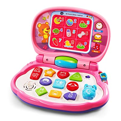 VTech Brilliant Baby Laptop, Pink: Toys & Games