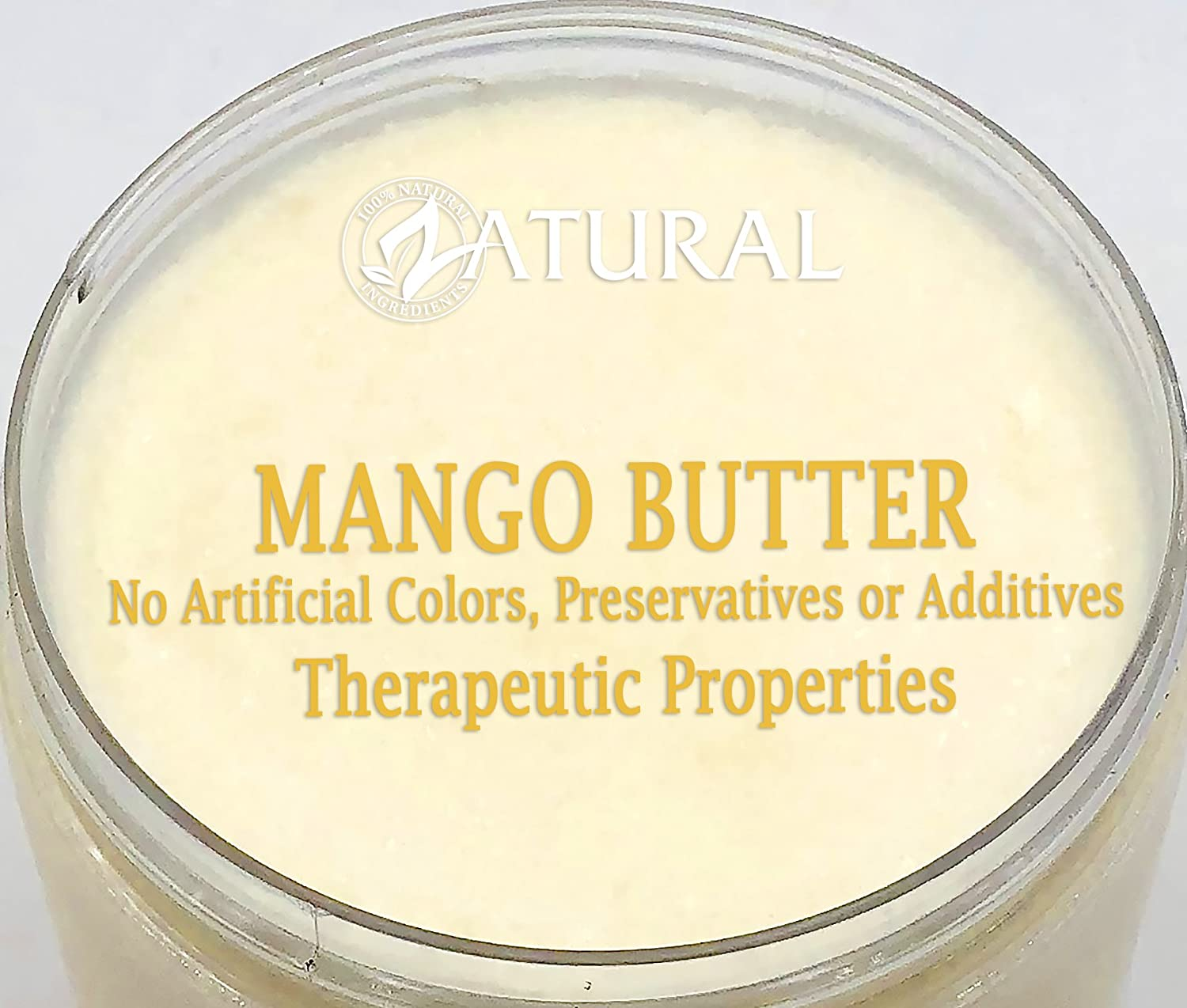 Organic Mango Butter 2 Available Food Cosmetic Image 3