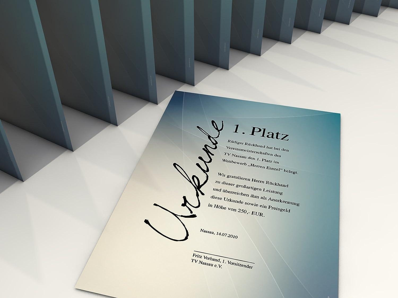 Papel para certificados conture 10/hojas A4 F /& # X178; rlaser//Ink//Copy//Mano 190/g//m/²
