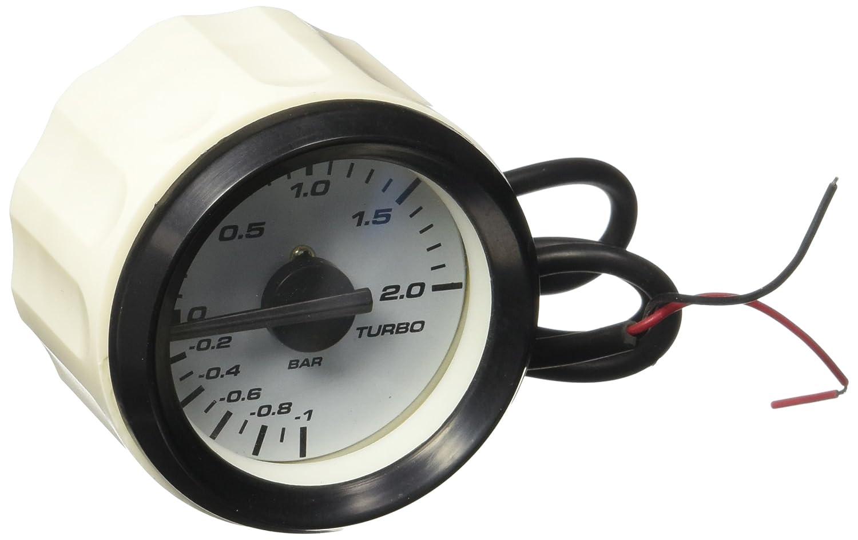 Aurora Instruments 902 Classic SAE Turbo Gauge (Black Modern Needles, Black Trim Rings, Style Kit Installed)