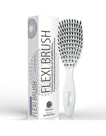 Cepillo para desenredar Flex cerdas de Jabalí y Nylon para el pelo – Cepillo desenredante para