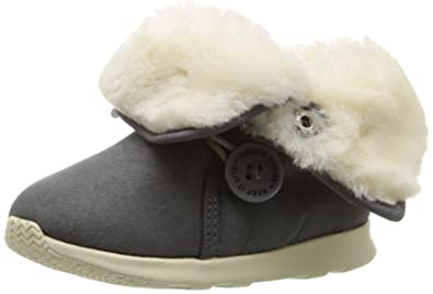 a052d76ba41 Native Shoes Kids  AP Luna Child Scotchgard-K Slip-On Dublin Grey