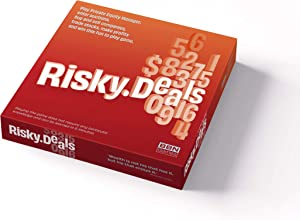 New - 2020 Risky Deals - The Stock Market Game. A Unique Classic Type of Game for Adults and Family Night. Risk, Strategy, Adrenaline and Fun.