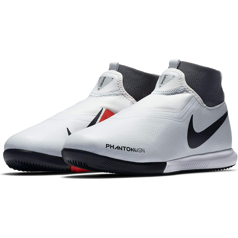 Nike Jr Phantom VSN Academy DF IC Grey//Red 1.5