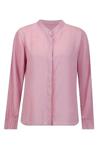 Beauty7 Blusas Mujer para Trabjo Negocios Ceremonias Mangas Larga Cuello Mao con Botones Camisetas V...