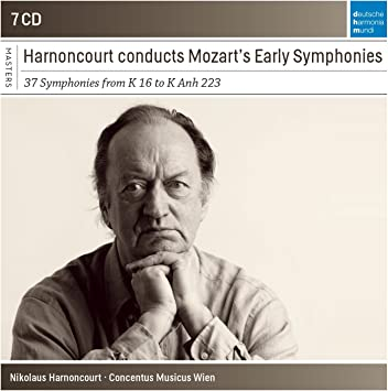 Nicolaus Harnoncourt Conducts Mozart Early Symphonies (Sony Classical Masters)