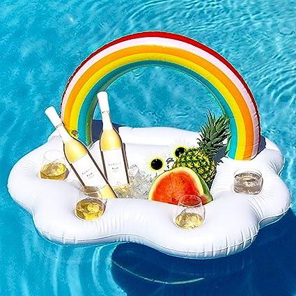 Amazon.com: Inflatable Drink Holder, Floating Beverage Bar for ...