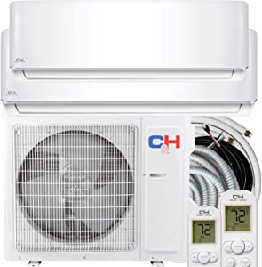 COOPER AND HUNTER Multi Zone Dual 2 Zone 12000 24000 Ductless Mini Split Air Conditioner Heat Pump Full Set WiFi Ready