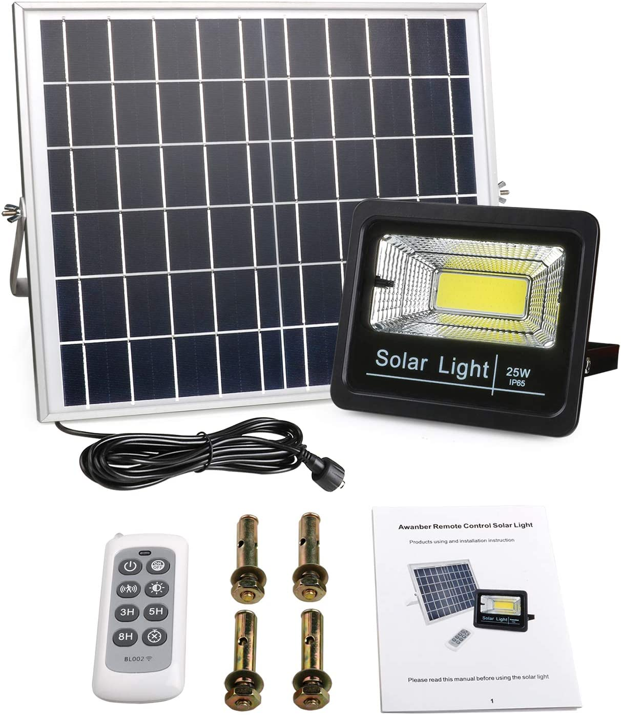 Awanber New Version Solar Flood Lights