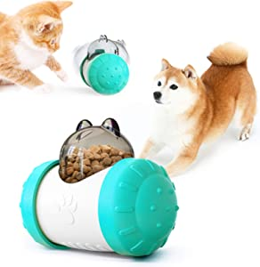 SUDUN Cat & Dog Toy Feeder, Dog Slow Feeder, Feeders for Cat, Dog Food Toy, IQ Improving Toys, Cat Food Toys, Pet Puzzle Brain Stimulating Toys, Interactive Pet Toys