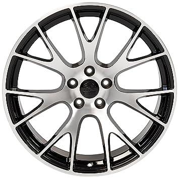 amazon oe wheels 20 inch fits dodge challenger charger srt8 2005 Dodge Dakota Quad Cab amazon oe wheels 20 inch fits dodge challenger charger srt8 magnum chrysler 300 srt8 dg15 hellcat style gloss black mach d 20x10 rim hollander 2528
