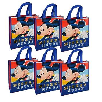 Disney Las bolsas de asas reutilizables de Mickey Mouse 12 ...