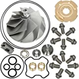 7.3L Turbo Compressor Wheel & Upgraded GTP38 Rebuild Kit for Garrett TP38 1994-2003 Ford Powerstroke 446579-0001 170293…