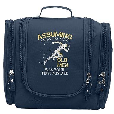 3053abd8022e Amazon.com: AB-ER Runner Old Man Mug UK Cosmetic Makeup Bag For ...