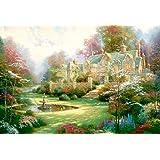 世界極小2000スモールピース ジグソーパズル 春の庭 (49x72cm)