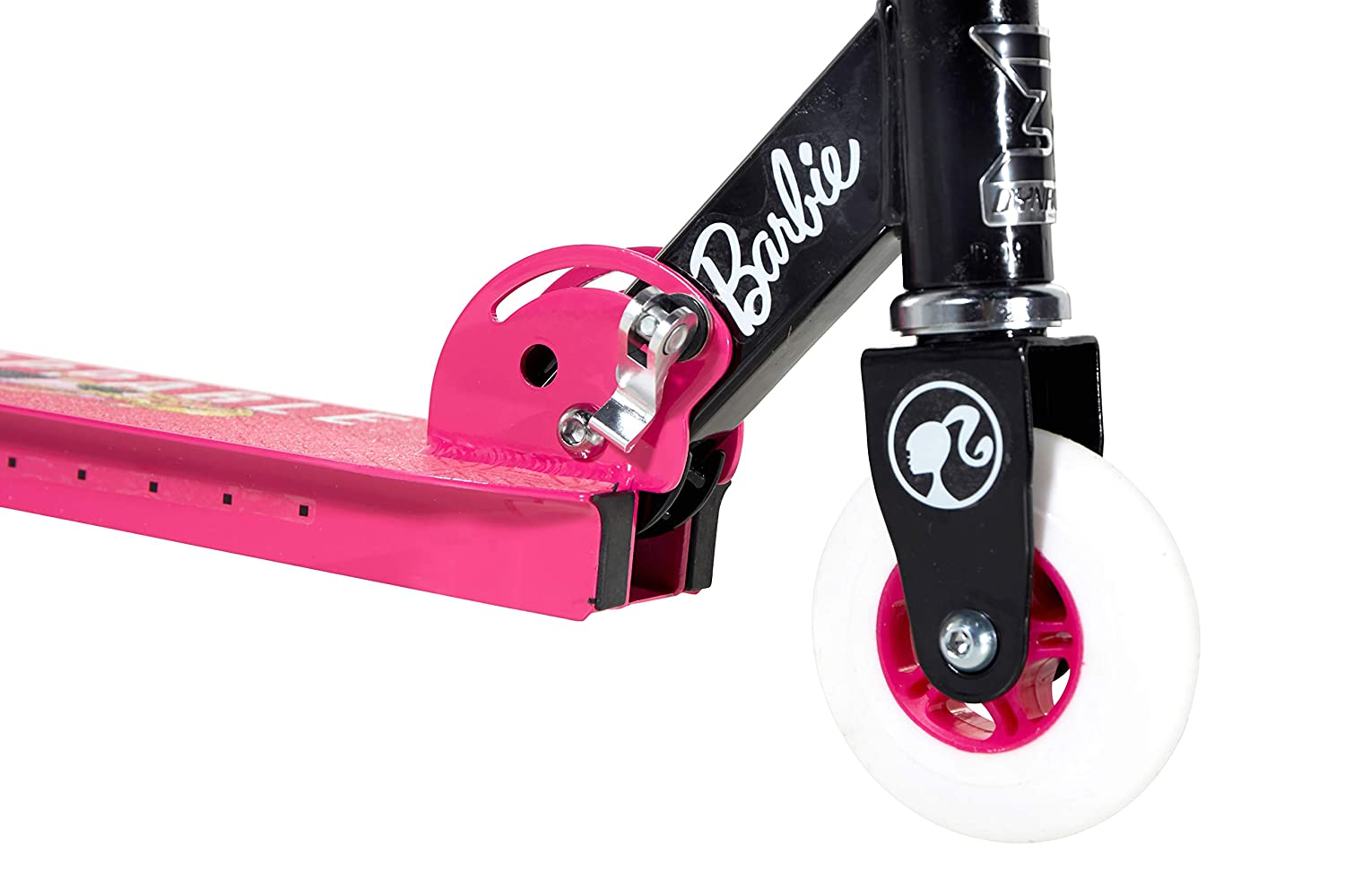 Barbie - Patinete Plegable (10,16 cm), Color Rosa: Amazon.es ...