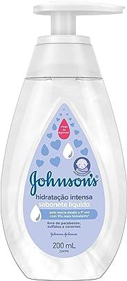 Sabonete Líquido Hidratação Intensa, Johnson's Baby, 200 ml