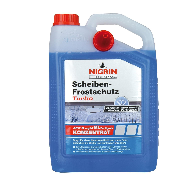 Nigrin 73154 Turbo protección contra heladas, 60 °C, 5 L: Amazon.es: Coche y moto