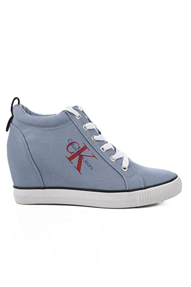 Chaussures Calvin Klein Jeans bleues Casual femme V1EUw